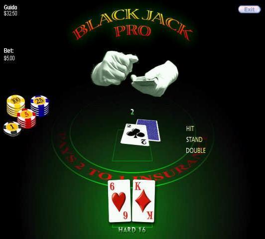 Regle blackjack debutant